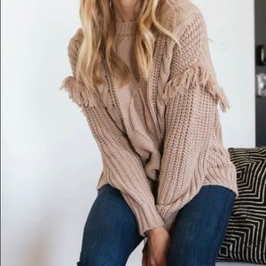 Taupe Sweater NWT